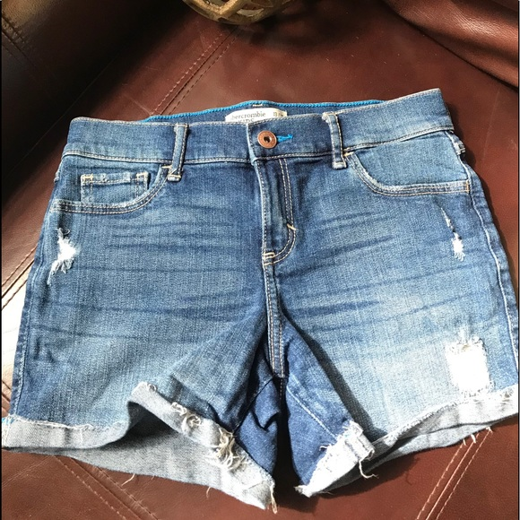 abercrombie kids Other - Abercrombie Kids Distressed Jean Shorts